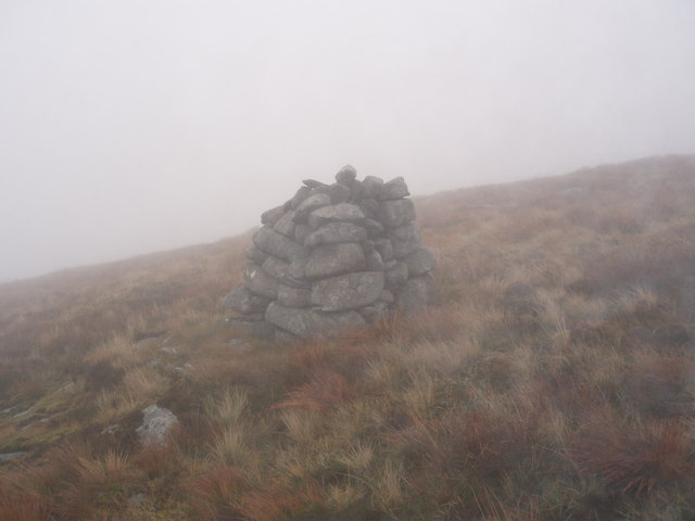 Cairn on Millfore Hill