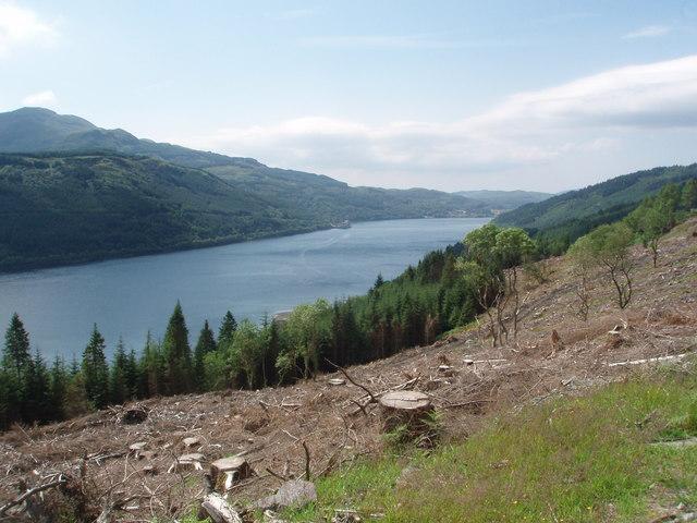 Loch Long from near Guananmore
