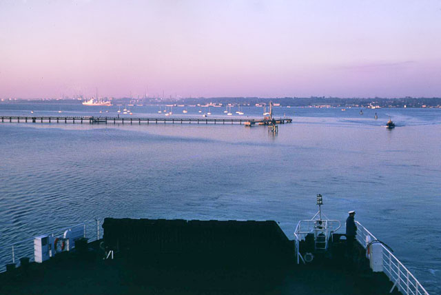 Early morning, Southampton Water, 1980