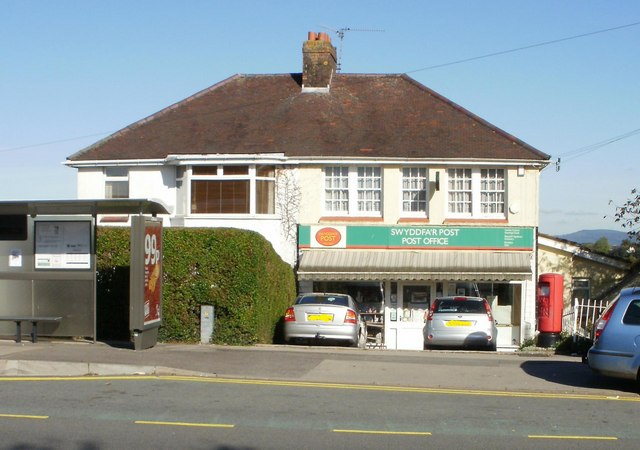 High Cross post office, Newport