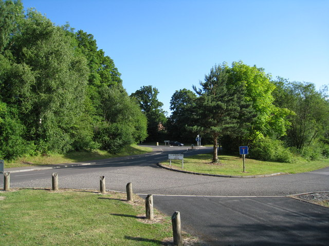 Access roads to Chineham estate