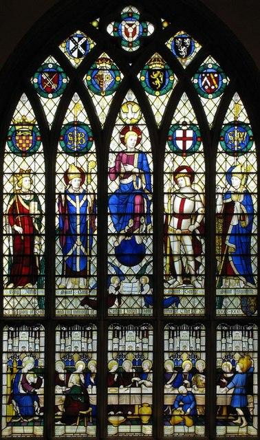 Christ Church, Esher, Surrey - East window