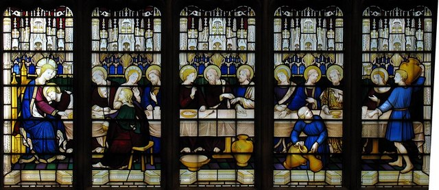 Christ Church, Esher, Surrey - East window detail