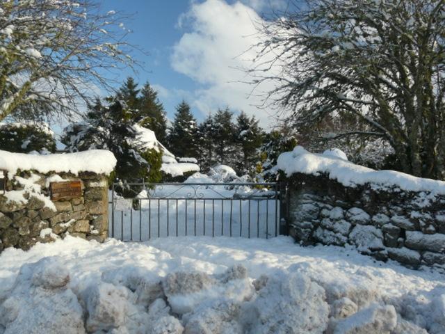 Gateway near Rogart