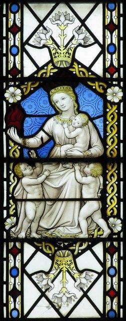 Christ Church, Esher, Surrey - Window