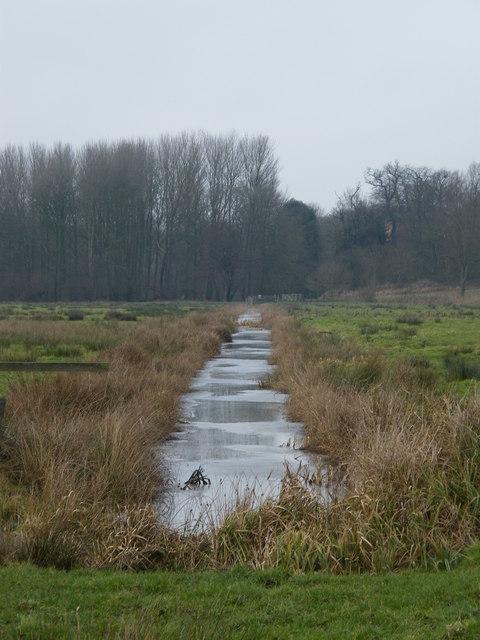 Drainage ditch, near Aldeby
