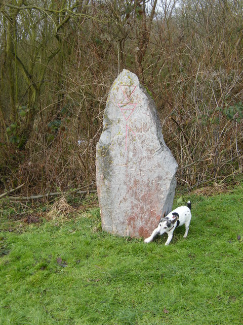 The Wherry Stone,  Aldeby Hall Staithe