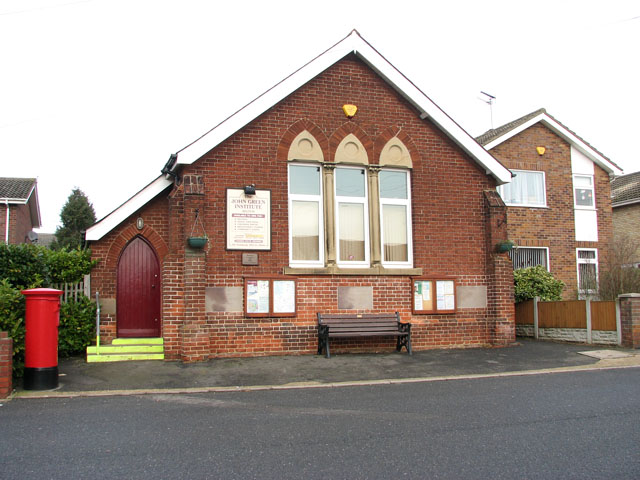 Belton Community Hall in Station Road South