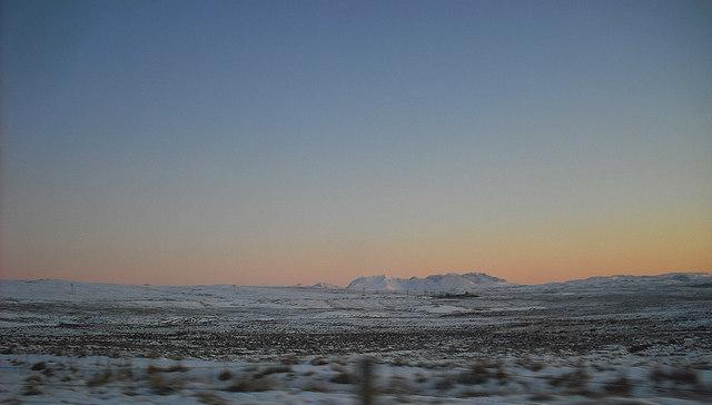 Winter moorland near Dunvegan