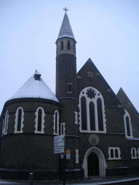 Greek Orthodox Cathedral of St Andrew, Kentish Town Road NW1