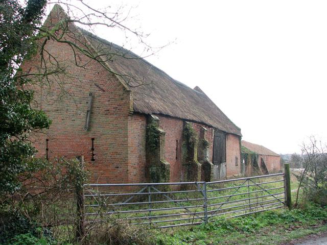 Brick barn at Beech Farm