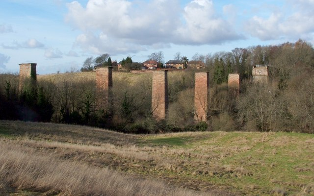 Remains of Craighead Viaduct