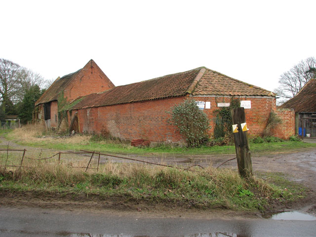Beech Farm in Beccles Road