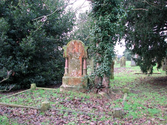 All Saints church, Belton - churchyard