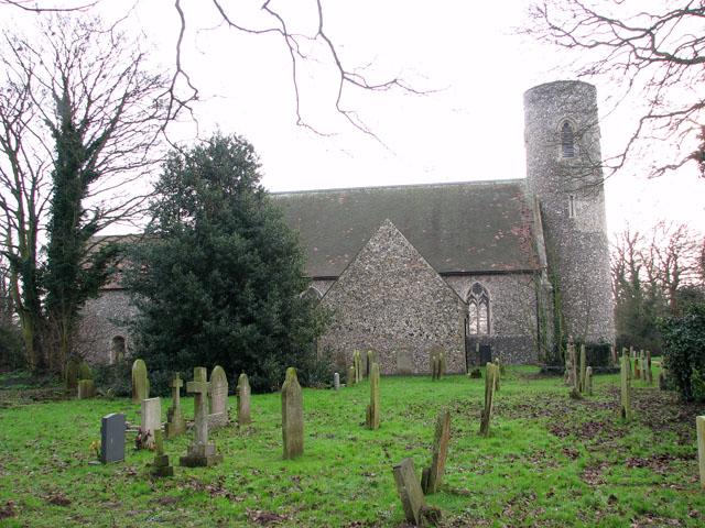 All Saints' church in Belton