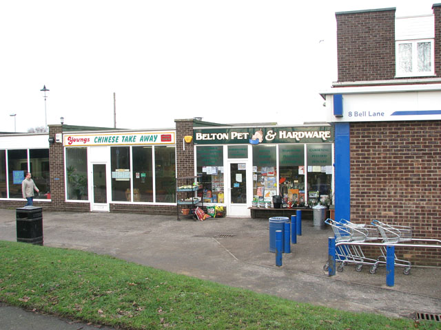 Youngs Chinese Takeaway and Belton Pet & Harware store