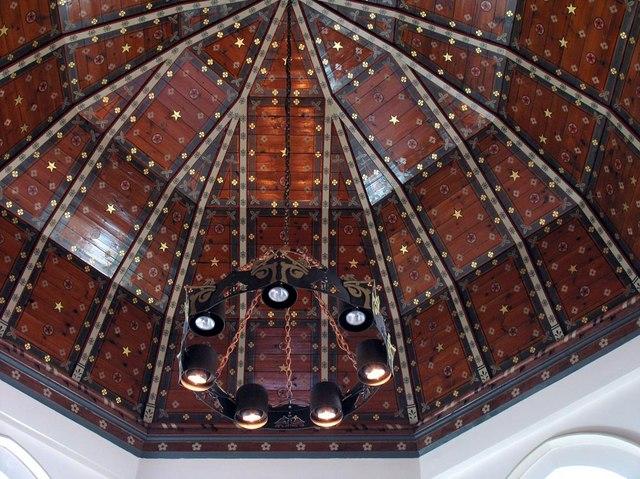 St Dunstan, Cheam - Apse roof