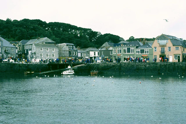 Padstow harbour, 1980
