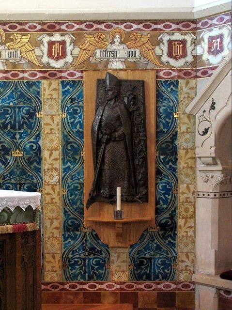 St Dunstan, Cheam - Statue