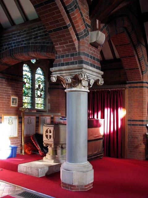 St Dunstan, Cheam - Font