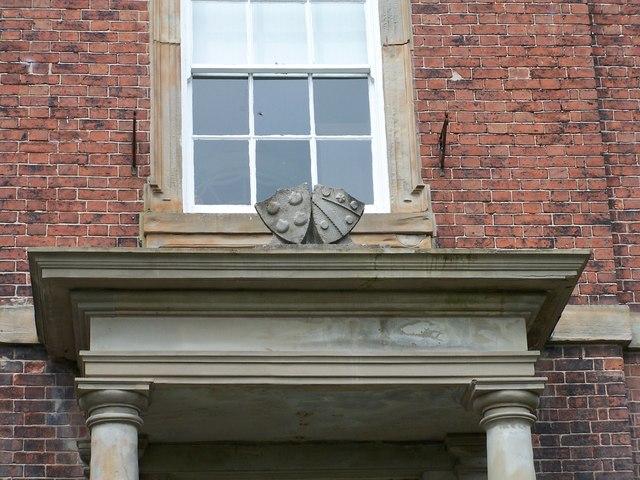 Door Detail on Birley Hall, Edge Lane, Birley Edge, Sheffield - 4