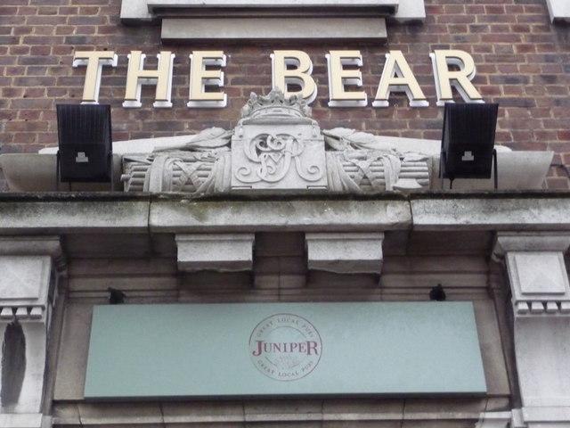 Wembley: The Bear – doorway detail