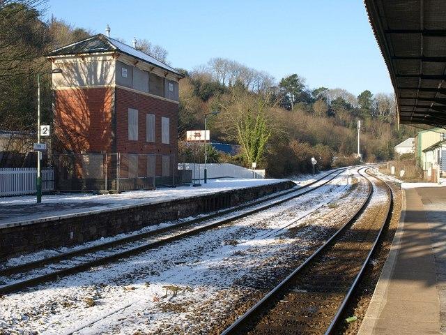 Snow at Torre Station