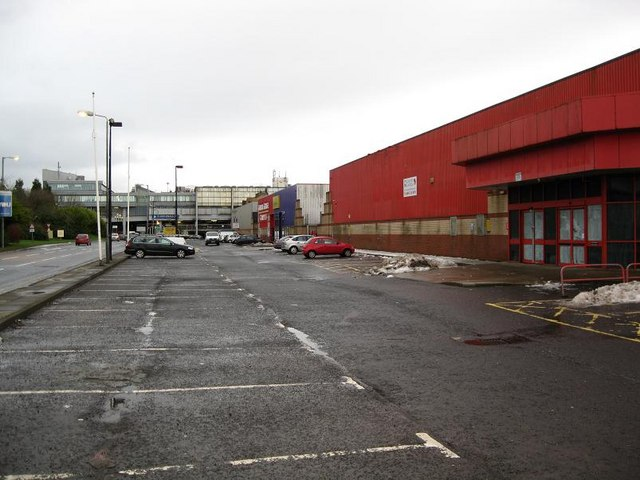 Abandoned Retail and Leisure Units