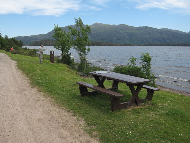 Picnic site by Loch Maree