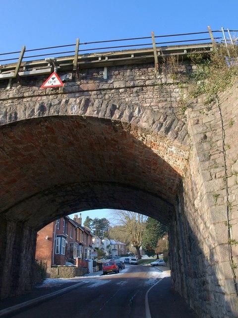 Railway bridge, Crownhill Park, Torquay