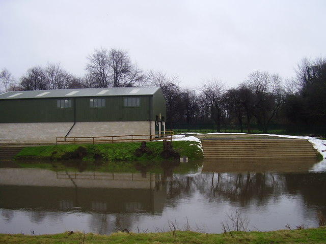Doncaster rowing club building.