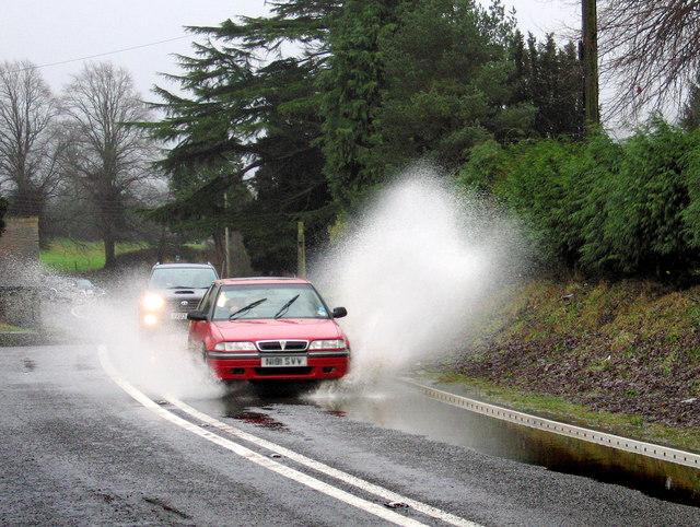 Splash at Lydham