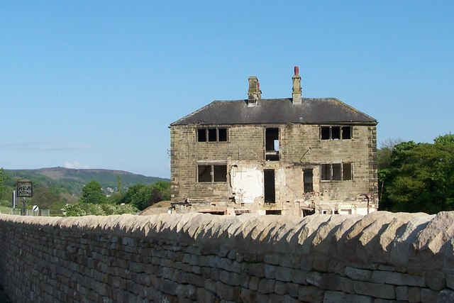 Former Marquis of Granby Hotel, Bamford, near Hathersage - 2