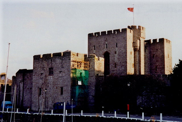 Castletown - Castle Rushen - West side