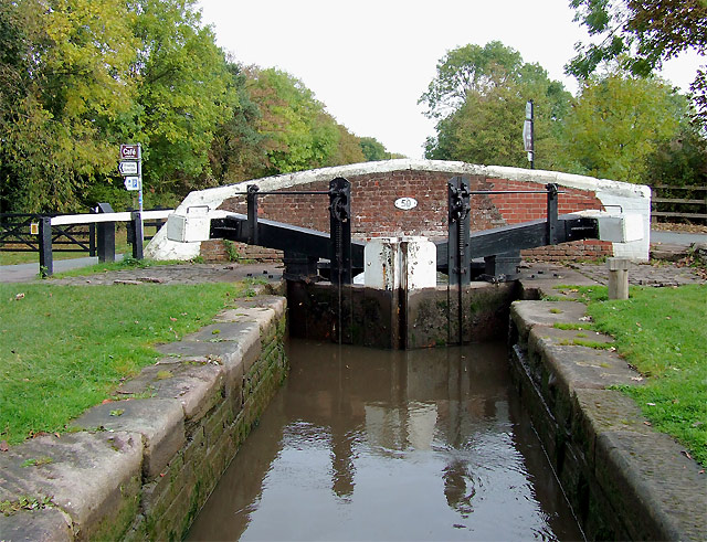 Keepers Lock and Bridge No 50, Fradley, Staffordshire