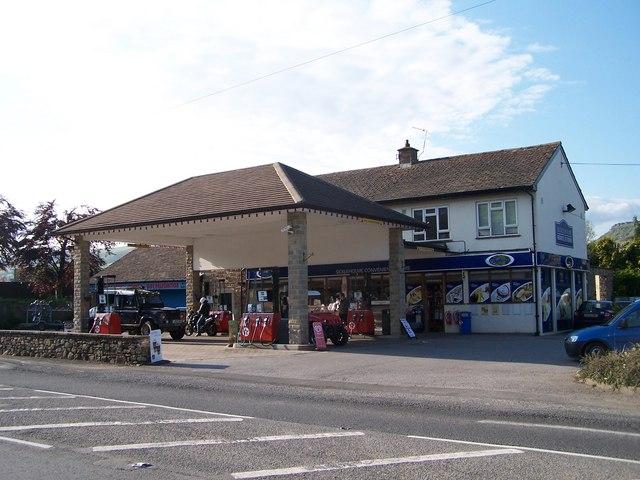 Bamford Garage and Stores, Bamford, near Hathersage