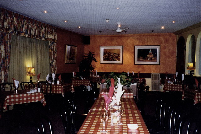 Douglas - Italian restaurant interior in the Sea Terminal