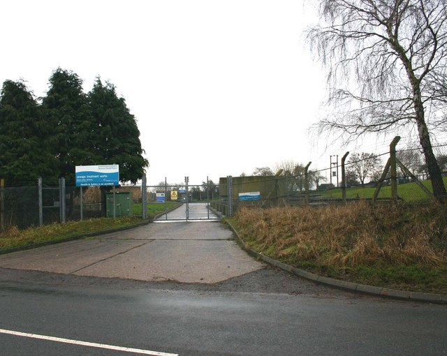 Sewage Treatment Works, Weston under Wetherley
