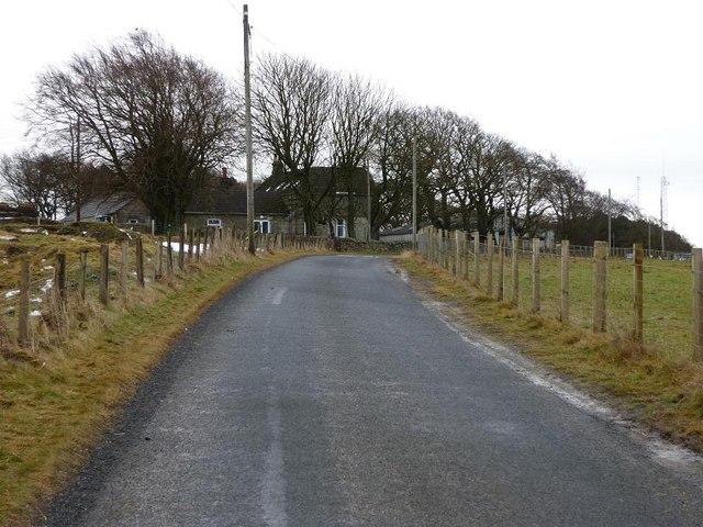 Road to Garbethill House
