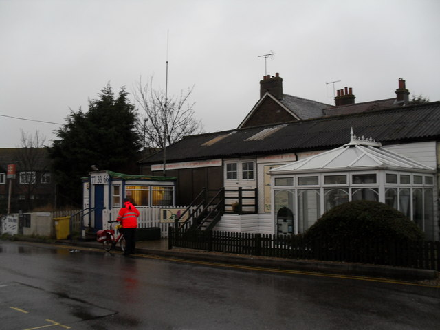 Taxi office opposite Angmering Station