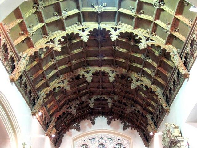 St Giles, Ashtead, Surrey - Roof