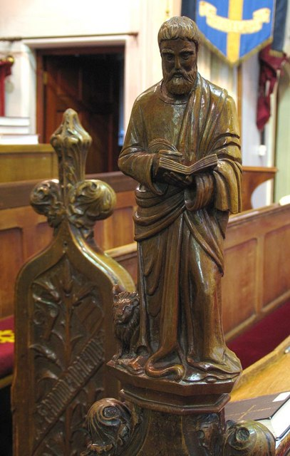 St Giles, Ashtead, Surrey - Bench end
