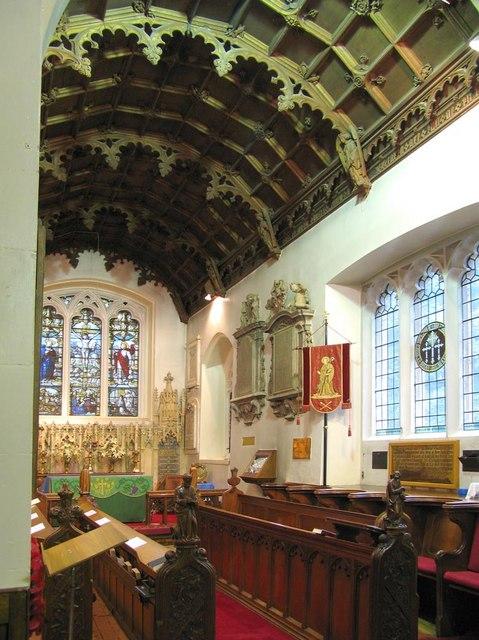 St Giles, Ashtead, Surrey - Chancel