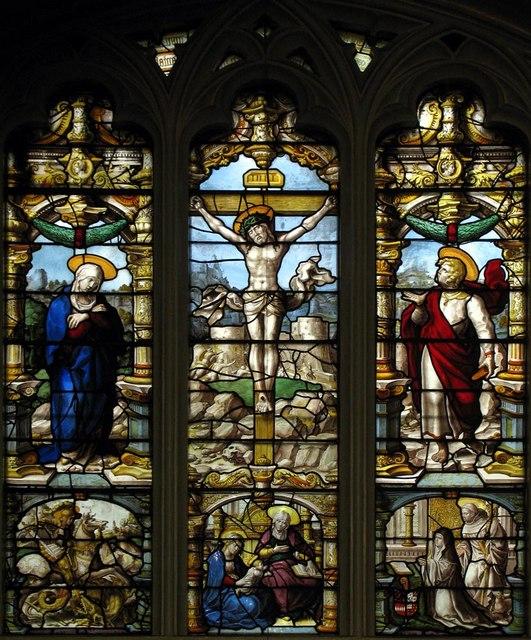 St Giles, Ashtead, Surrey - East window