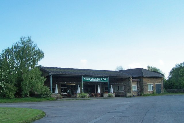 Country Bookshop & Cafe, Hassop, Derbyshire