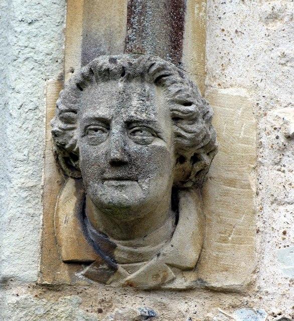 St Giles, Ashtead, Surrey - Label head