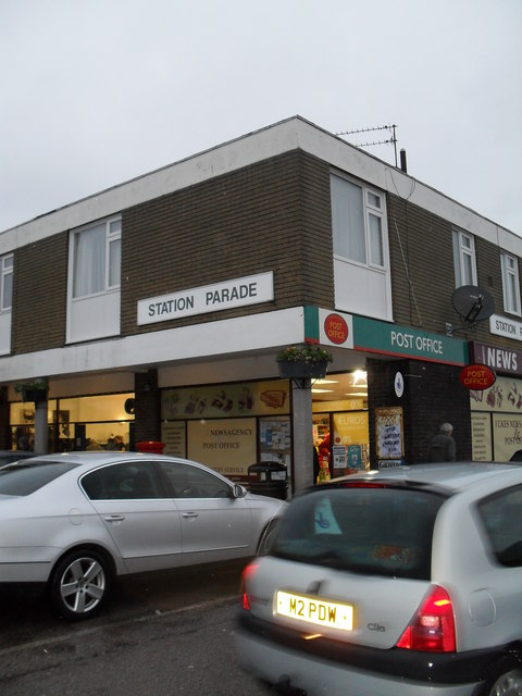 Post office in Station Parade