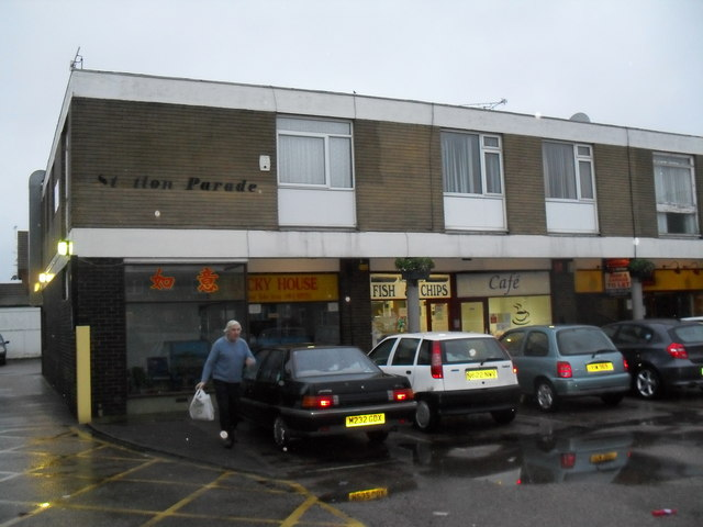 Food outlets in Station Parade