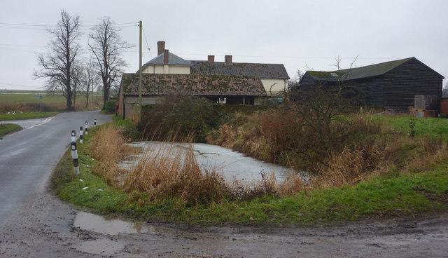 Pond by Ashfield Lodge