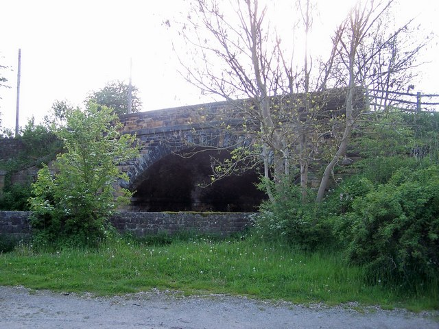 Bridge over the Monsal Trail, Hassop, Derbyshire